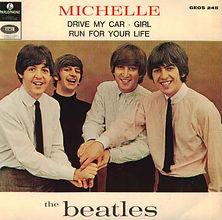Beatles Michelle EP Norway