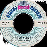 Black Sabbath - Sabbath Bloody Sabbath / A National Acrobat - Thailand - 4 Track FT.990 - 197?- Side 1