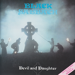 Black Sabbath - Devil And Daughter (One Sided) - UK - I.R.S. EIRS 115- 1989