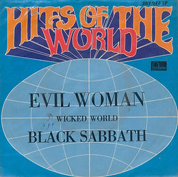 Evil Woman / Wicked World Fontana 267 977 TF -- 1970*