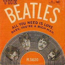 Beatles All You Need Is Love Norway