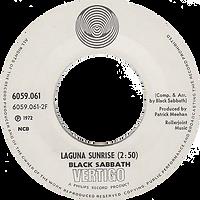 Black Sabbath - Tomorrow's Dream / Laguna Sunrise - Norway - Vertigo 6059 061 - 1972 - Side 2