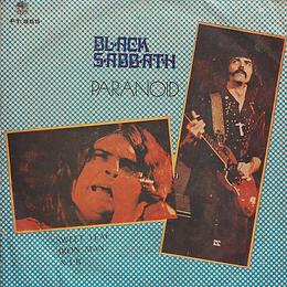 Black Sabbath - Paranoid / N.I.B. / Sweet Leaf / Iron Man - Thailand - 4 Track FT.955 - 197?- Front