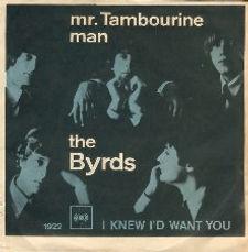 Byrds Mr Tambourine Man Denmark