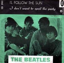 Beatles I'll Follow The Sun Norway