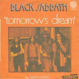 Black Sabbath - Tomorrow's Dream / Laguna Sunrise - France -  Vertigo 6059 061-1972