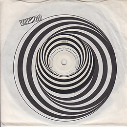 Black Sabbath - Paranoid / The Wizard - UK - Vertigo 6059 010- 1970