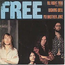 All Right Now / My Brother Jake / Wishing Well Island X-11811 - 1978