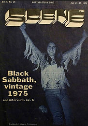 Black Sabbath  Scene July 1975