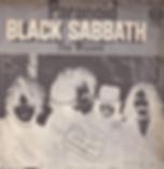 Black Sabbath - Paranoid / The Wizard - Israel - Vertigo 6059 010- 1970 - Front