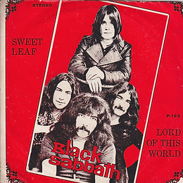 Black Sabbath - Sweet Leaf / Lord Of This World - Thailand - HHH P.105 - 197?- Front
