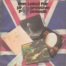 Black Sabbath - Tomorrow's Dream / Laguna Sunrise - Germany - Vertigo 6059 061- 1972 - Back