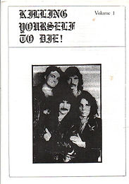 Black Sabbath - Fanzine - Killing Yourself To Die - No.1