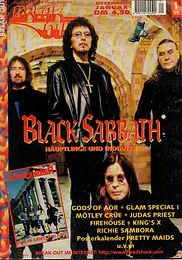 Black Sabbath - Break Out December 1999