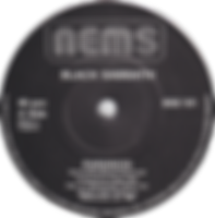 Black Sabbath - Paranoid / Snowblind - UK - NEMS BSS 101 - 1980 - Side 1