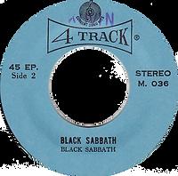 Black Sabbath - Into The Void / Black Sabbath - Thailand - 4 Track M.036 - 197?- Side 2