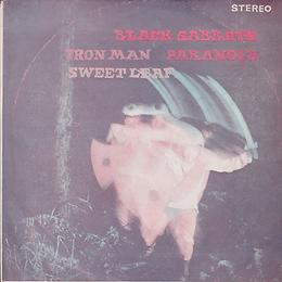 Black Sabbath - Sweet Leaf / Paranoid / Iron Man - Thailand - MC-960 - 197?- Front