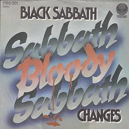 Black Sabbath - Sabbath Bloody Sabbath / Changes - Germany - Vertigo 6165001- 1973