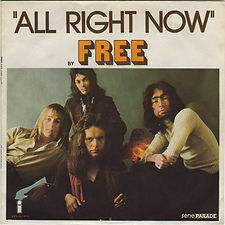 All Right Now / Mouthful Of Grass Island 6138 034 - 1973