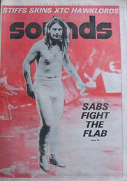 Black Sabbath - Sounds October 1978
