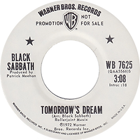 Tomorrow's Dream / Laguna Sunrise Warner Bros 7625 - 1972 Promo side 1