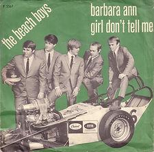 Beach Boys Barbara Ann Denmark