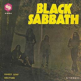 Black Sabbath - Solitude / Sweet Leaf - Singapore - S BS-4884 - 1972? - Front