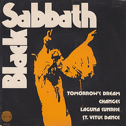 Black Sabbath - Tomorrow's Dream / Laguna Sunrise / Changes / St.Vitus Dance - Brasil - Vertigo  6276 008 - 1973