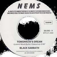 Black Sabbath - Paranoid / Tomorrow's Dream - Belgium - NEMS 26.550 - 1980 - Side 2
