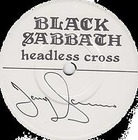 Black Sabbath  - Headless Cross / Cloak And Dagger - UK - I.R.S. EIRS CB 107 - 1989 - Autograhed by Tony Iommy - Side 1