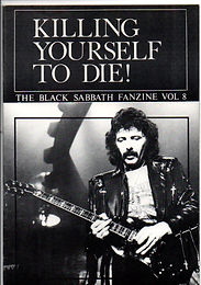Black Sabbath - Fanzine - Killing Yourself To Die - No.8