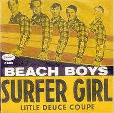 Beach Boys Surfer GirlL SWE