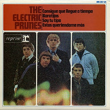 Electric Prunes Get Me To The World On Time EP Spain