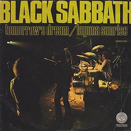 Black Sabbath - Tomorrow's Dream / Laguna Sunrise - Netherlands - Vertigo 6059 061- 1972 - Front