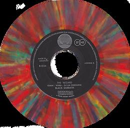 Black Sabbath - Paranoid / The Wizard - Lebanon - Vertigo 6059 010 - 1970 - Side 2