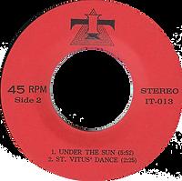 Black Sabbath - Cornucopia / Supernaut / Under The Sun / St. Vitus Dance - Thailand - IT IT-013 - 197?- Side 2