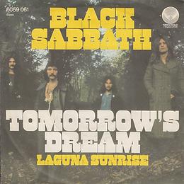 Black Sabbath  - Tomorrow's Dream / Laguna Sunrise - Germany - Vertigo 6059 061- 1972