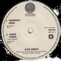 Black Sabbath - Tomorrow's Dream / Laguna Sunrise - Netherlands - Vertigo 6059 061- 1972 - Side 2