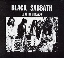 Black Sabbath - Love in Chicago - LP - Bootleg