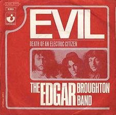 Edgar Broughton Band Evil France