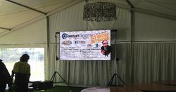 HD Led Screen setup in Marquee