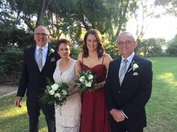 Deirdre and Keith Wedding