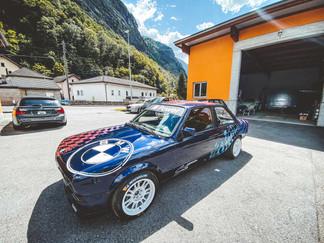 Decorazione BMW della Carrozzeria Satro