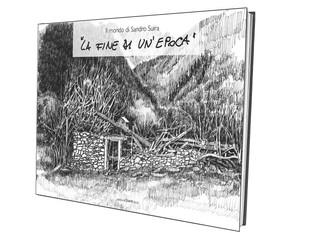 """Libro """"La fine di un'epoca"""", Edizione d'Arte Dazzi - Artista Sandro Suira"""