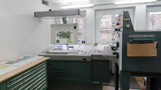 Console stampante Heidelberg