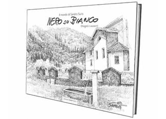 """Libro """"Nero su Bianco"""", Edizione d'Arte Dazzi - Artista Sandro Suira"""