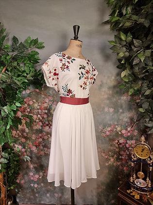 Robe Cécilia  rebrodée