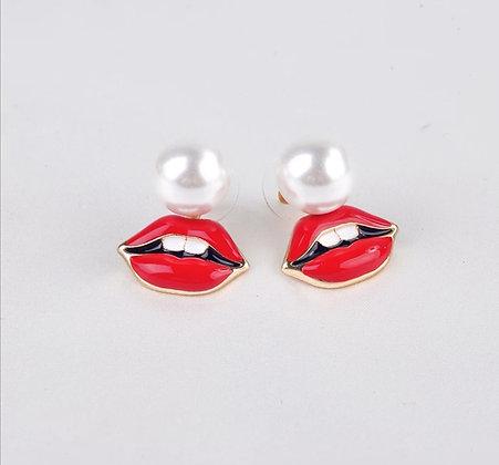 Boucles d'oreilles Kiss kiss