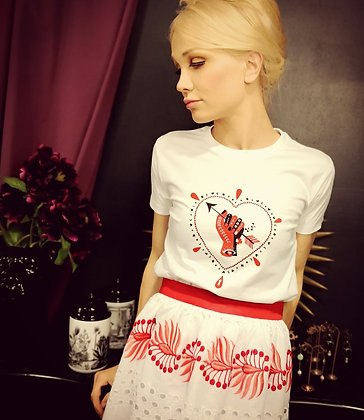 Tee-shirt Love Tatoo
