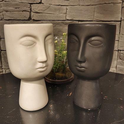 Vase visages